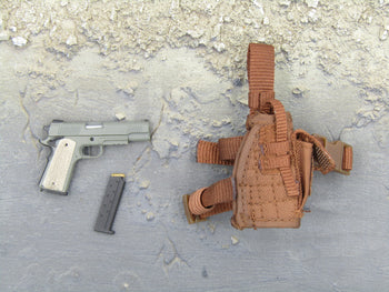 GI JOE - Rock & Roll - 1911 Pistol & Drop Leg Holster