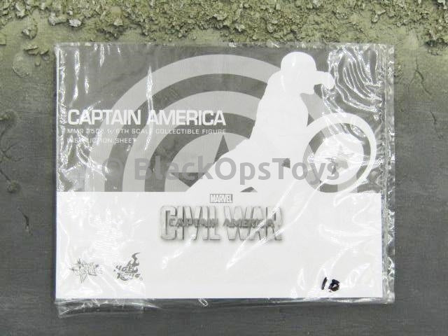 Hot Toys 1/6 Scale Civil War Captain America Instructions Guide