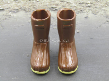 Brown Duck Hunting Boots (Foot Type)
