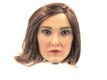 Magnetic Girl - Female Head Sculpt in Emma Dumont Likeness