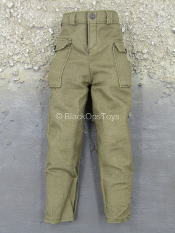 WWII - US Ranger - Green Combat Pants