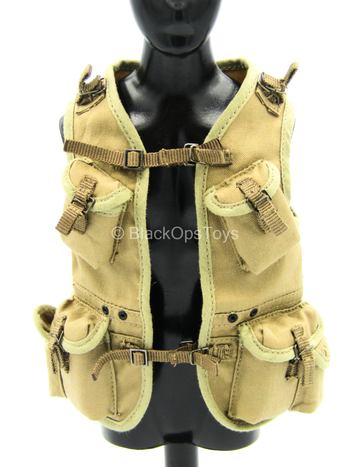 WWII - US Ranger - Tan Ranger Assault Vest Set