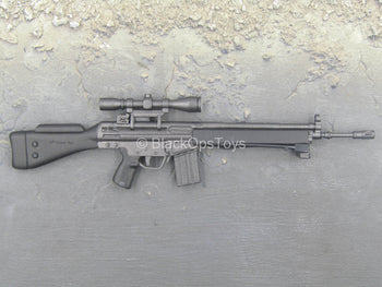 Modern Foreign Weapons - Black HK 41 Rifle w/Bipod