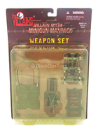Villian M134 Minigun Manpack - MINT IN BOX