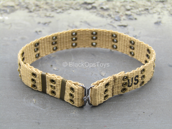 WWII - US Ranger - Tan Rivet Belt