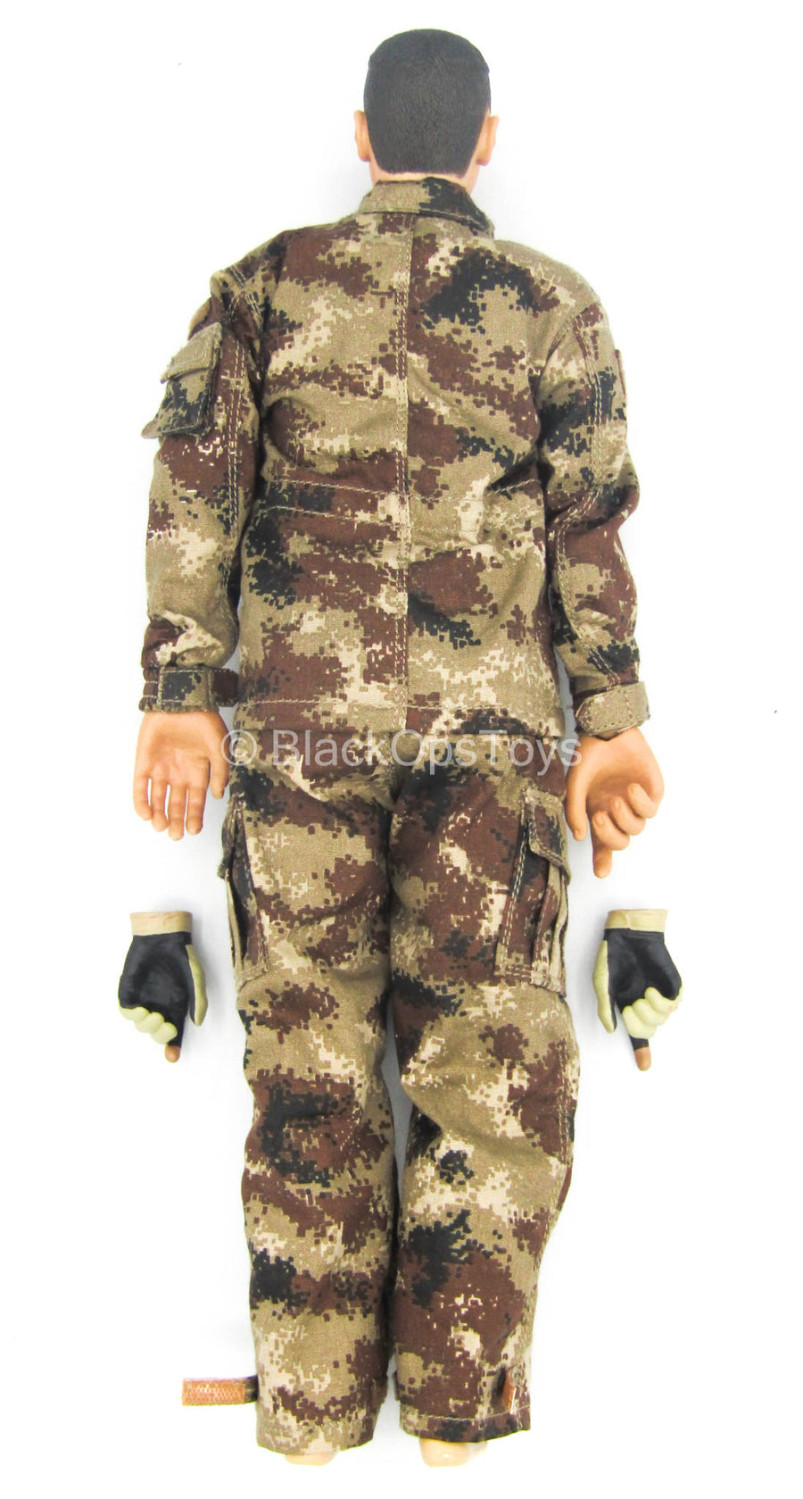 PLA Desert Wolf - Male Body & Head Sculpt w/Arid Type 07 Uniform