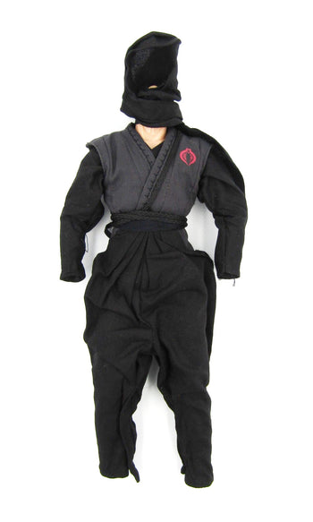 GI JOE - Cobra Black Dragon Ninja - Full Base Body & Uniform