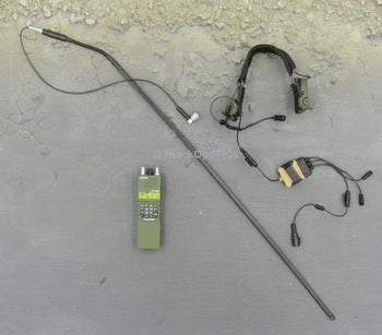 British SAS CRW Assaulter Headset and Radio Comms Set