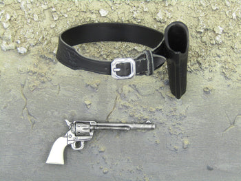 Cowboys & Aliens - Woodrow - Etched Holster w/Revolver