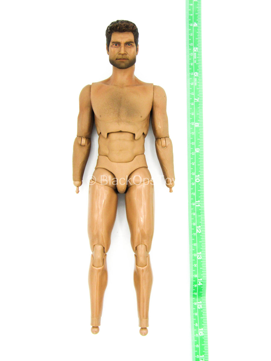 Uncharted 3 - Nathan Drake - Male Base Body w/Head Sculpt
