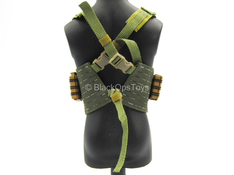Tactical Chest Rig w/6.5 Creedmoor Mags & Holsters