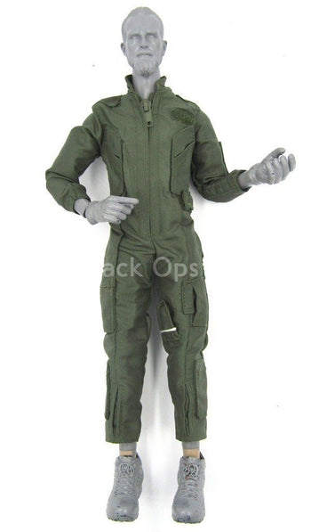 "Navy Seal ""Shark"" -  OD Green Jumpsuit"