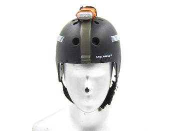 "Navy Seal ""Shark"" - Black Helmet w/Strobe"