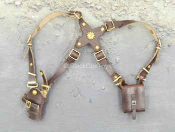 Uncharted 3 - Nathan Drake - Leather Like Shoulder Holster