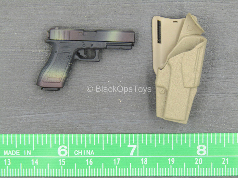 Seal Team 6 DEVGRU - Pistol w/Tan Holster