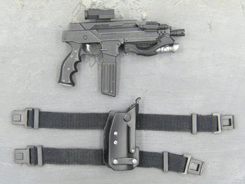 APPLESEED - Briareos - Futuristic SMG w/Drop Leg Holster (Right)