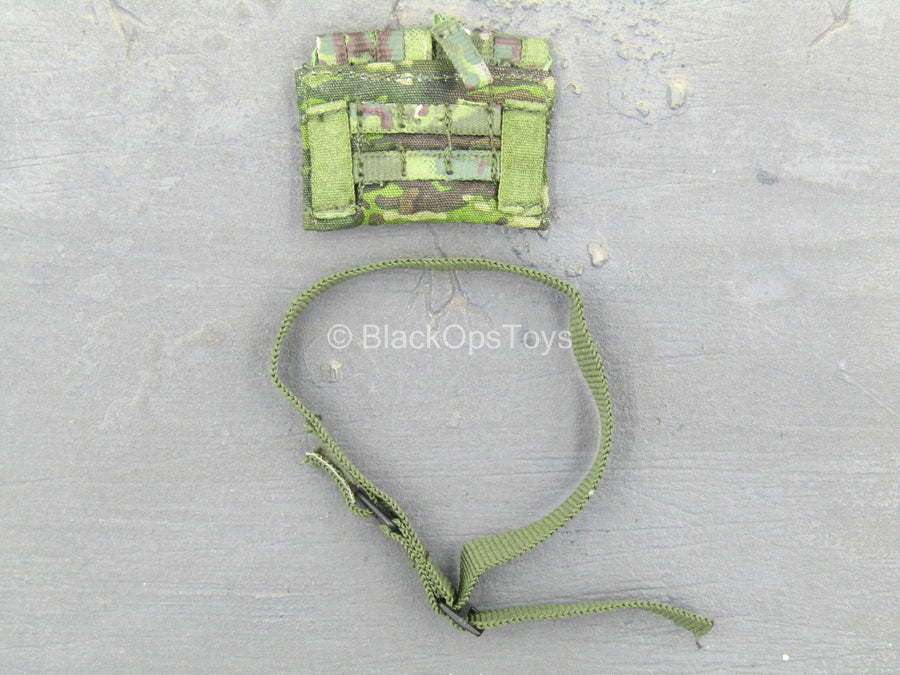 Seal Team 6 DEVGRU - Tropical Multicam Medical Pouch w/Green Belt