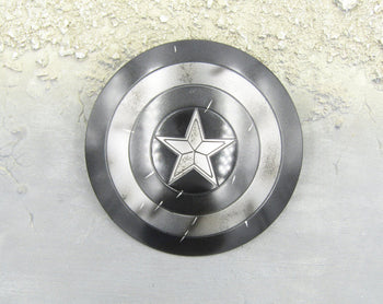 CAPTAIN AMERICA - Modern Age Throwing Shield w/Battle Damage