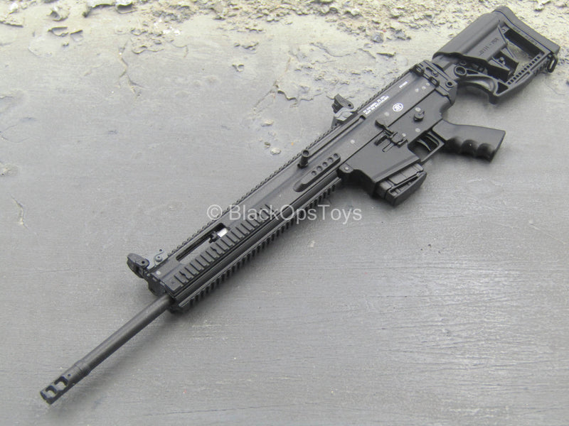 Collapsible Stock Black 6.5 Creedmoor SCAR DMR Rifle