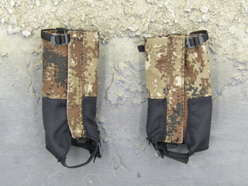 Chinese PLA - Border Guard - MARPAT Camo Boot Spats