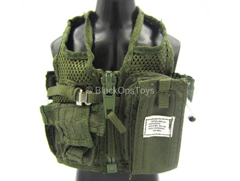 US Army - Apache Pilot - Green Survival Vest Set