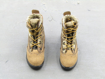 Chinese PLA - Border Guard - MARPAT Camo Boots (Foot Type)