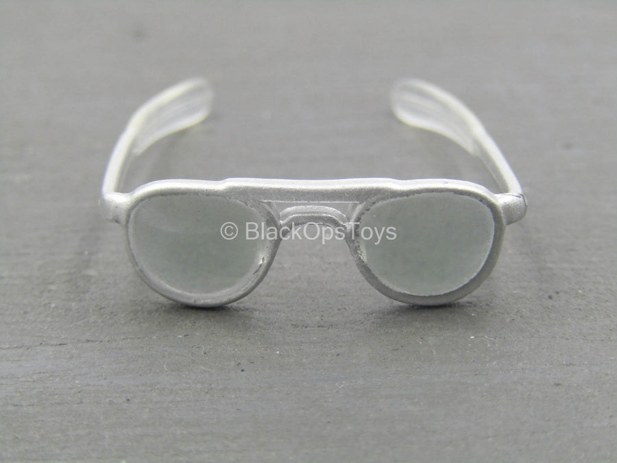 US Army - Apache Pilot - Silver-Colored Aviator Glasses