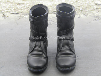 US Army - Apache Pilot - Black Tanker Boots (Foot Type)