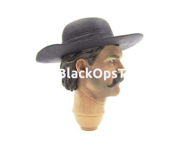 Redman Toys The Cowboy 1/6 Scale Collectible Deputy Town Marshal Headsculpt w/Removable Hat