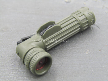 USMC Sergeant - Angled Flashlight