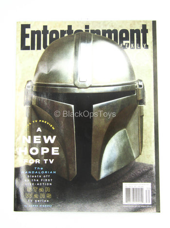 1/1 Scale - The Mandalorian - Entertainment Weekly Magazine