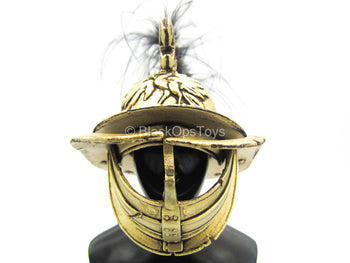 Gladiator Of Rome IV - Gold-Colored Gladiator Helmet