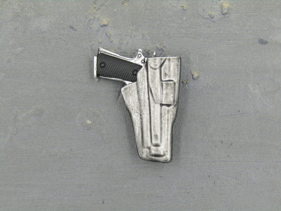Donald Pierce - Silver Pistol & Holster Set