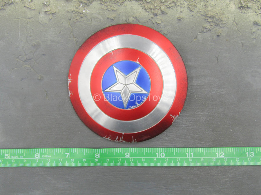 The Winter Soldier - Captain America - METAL Battle Damaged Shield