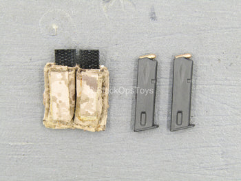 Seal Team Six Red Team - Dual Cell Pistol Mag Pouch w/Magazines