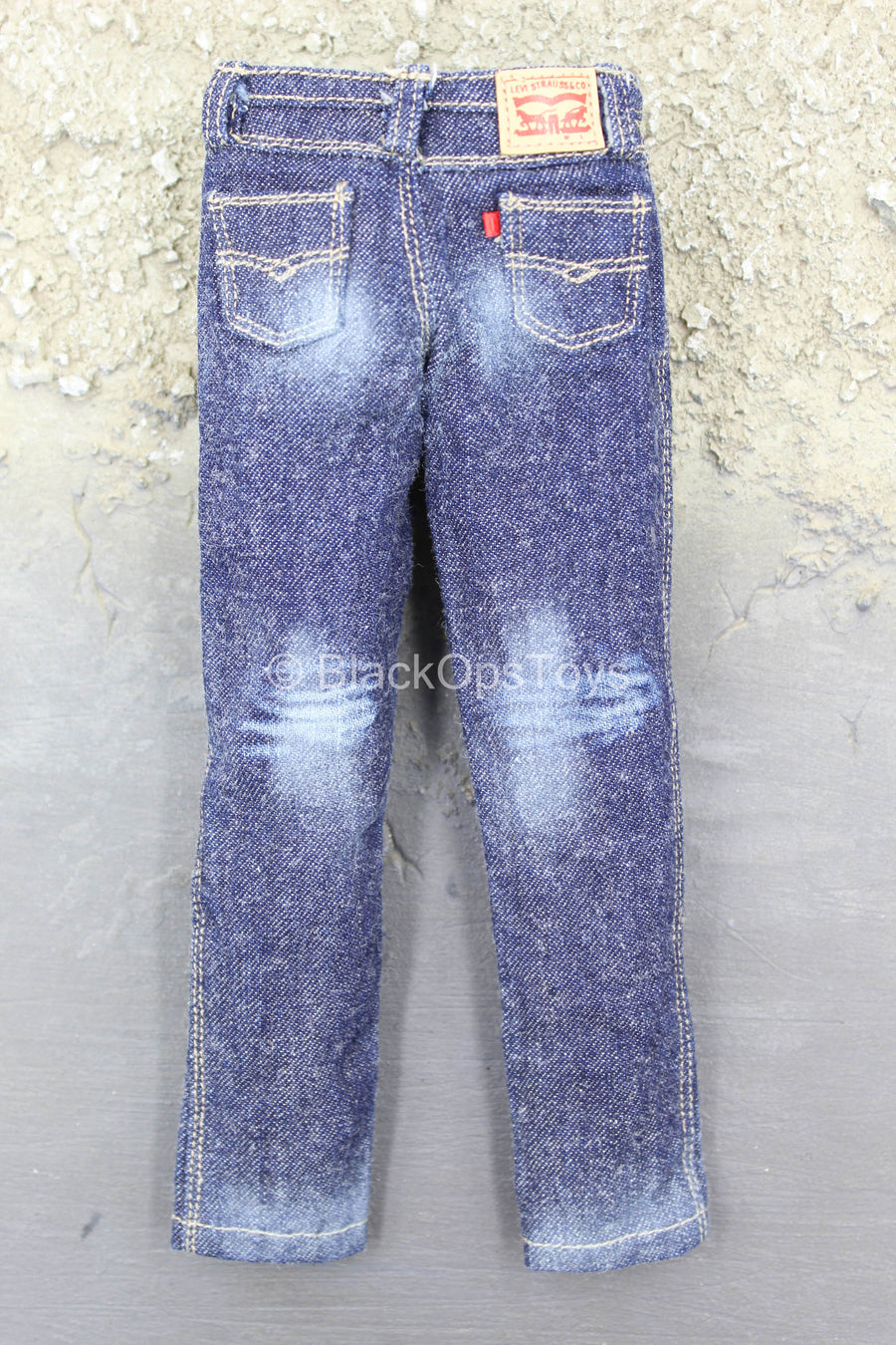 British SMU - Lone Rescuer - Faded Denim Blue Jeans