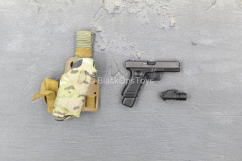 British SMU - Lone Rescuer - 9MM Pistol w/Drop Leg Holster
