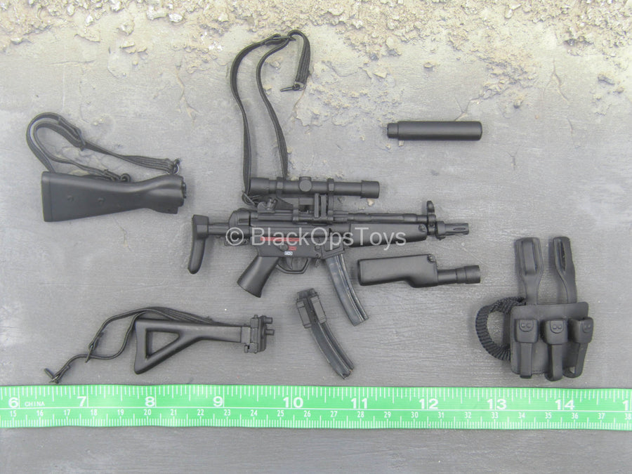 British SAS - Counter Terrorist - HK MP5 SMG Builder Set