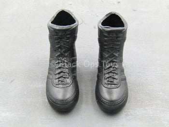 Special Air Service - Black Molded Combat Boots (Foot Type)