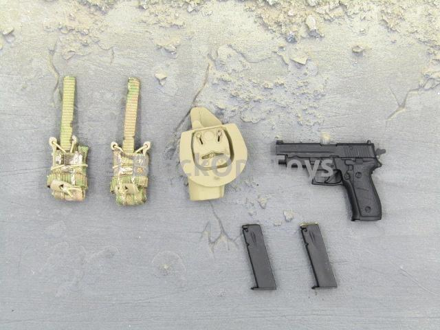 Mini Times Toys US Navy SEAL Team Six Shared Parts Pistol & Holster Set