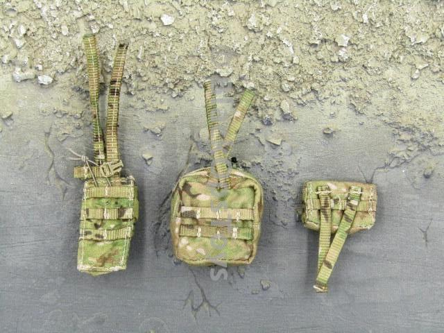 Mini Times Toys US Navy SEAL Team Six Shared Parts Multicam Pouch Set
