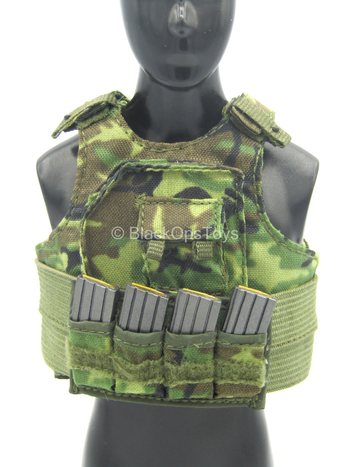 "Howard ""Mad Max"" Mullen - Woodland Plate Carrier Vest w/AR Mags"