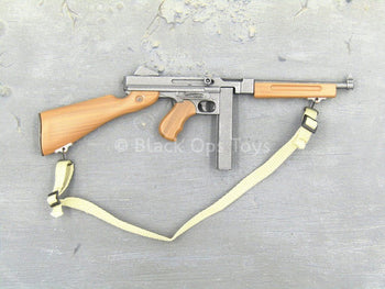 "WWII - USMC Flamethrower ""Sonny"" - M1 Submachine Gun (Type 1)"