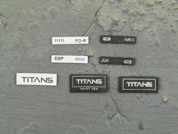 Ghost Series Titans - Patch Set