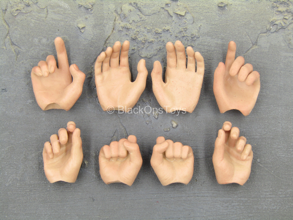 The Extractor - Male Hand Set (x8)