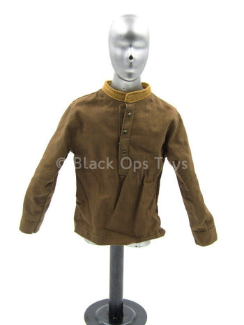 WWII - British Infantry Patrol - Brown Long Sleeved Shirt