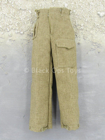 WWII - British Infantry Patrol - Brown Pants