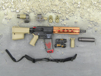 Ghost Series Titans - Red & Black HK416 & Accessory Set