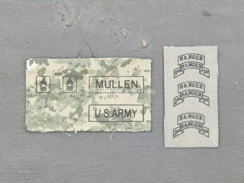 "Howard ""Mad Max' Mullen ACU - Patch Set"