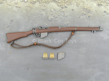 WWII - British Infantry Patrol - Lee-Enfield .303 SMLE Rifle (Type 1)